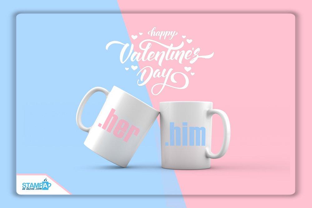 tazze personalizzate san valentino