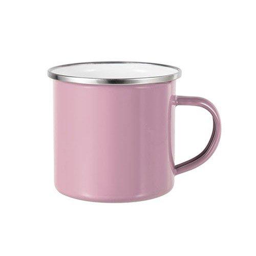 tazza alluminio personalizzata rosa