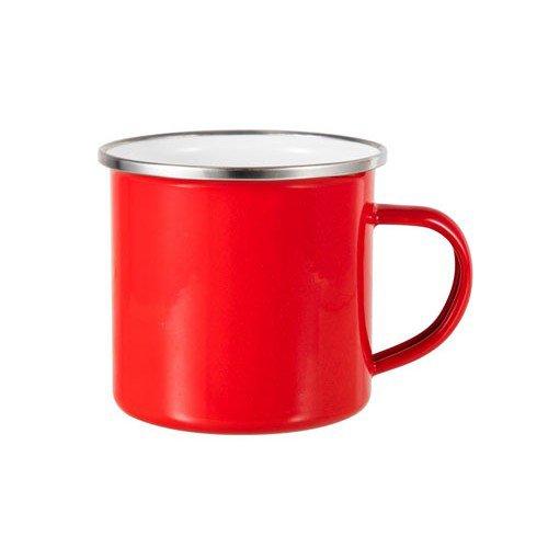 tazza alluminio personalizzata rossa