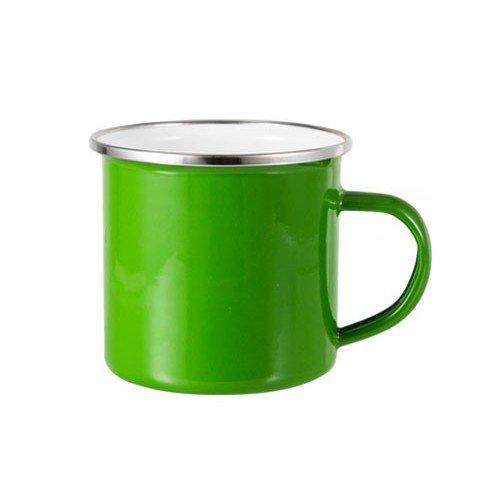 tazza alluminio personalizzata verde