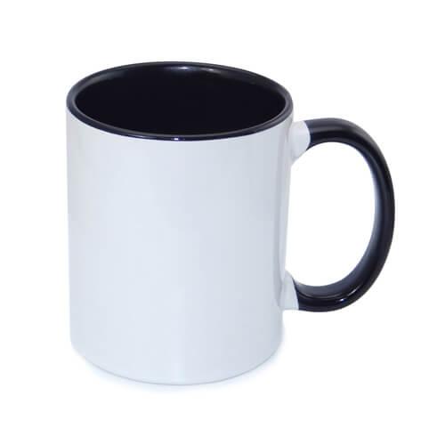 tazza personalizzata nera