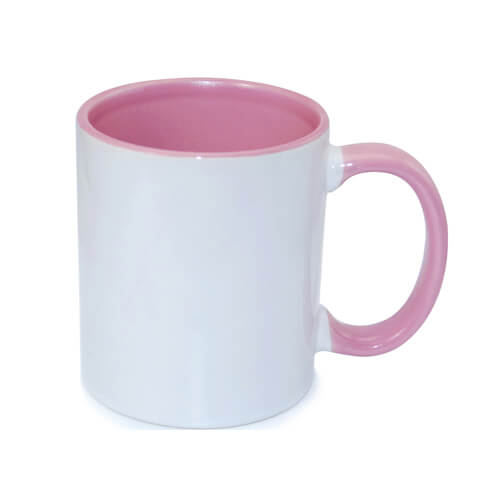 tazza personalizzata rosa