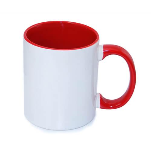 tazza personalizzata rossa