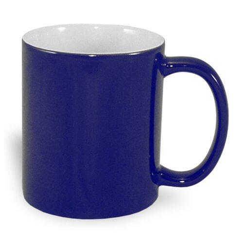 Tazza magica personalizzata blu navy
