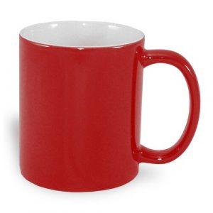 Tazza magica personalizzata rossa