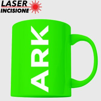 tazze personalizzate fluo