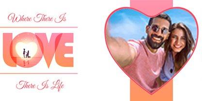 TAZZA LUCIDA PERSONALIZZATA LOVE LOVE