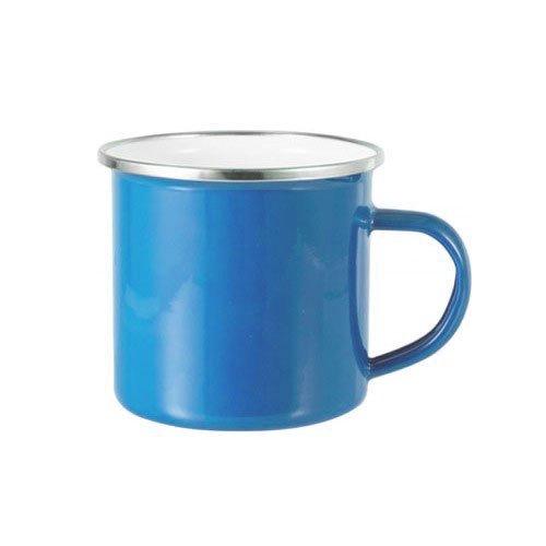 tazza alluminio personalizzata azzurra