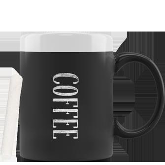 tazza personalizzabile con vernice lavagna
