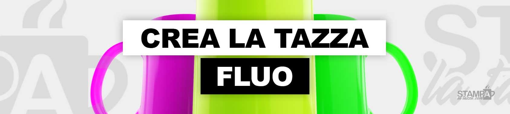 tazze fluo personalizzate