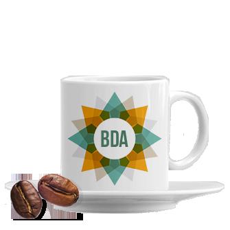 tazzine da caffè personalizzate con piattino